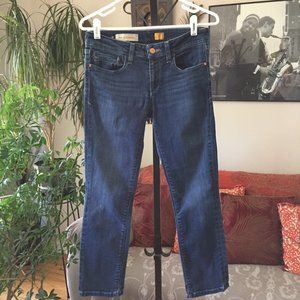 PILCRO & The Letterpress Straight Cropped Jeans